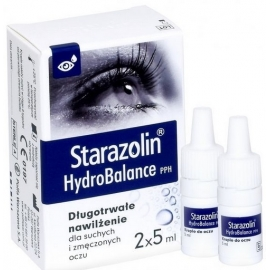 Starazolin HydroBalance PPH Krople do oczu 2x5ml