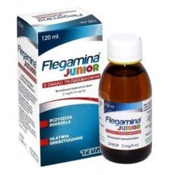 Flegamina Junior syrop truskawkowy 2mg/5ml 120 ml