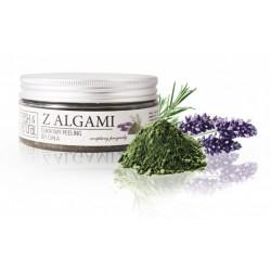 Fresh&Natural Cukrowy peeling do ciała z algami 250g