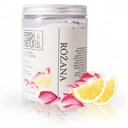 Fresh&Natural Różana sól do kąpieli z różą i cytryną 1000g