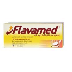 Flavamed 60 mg  x 10 tabletek musujących