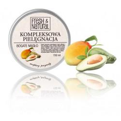 Fresh&Natural Kompleksowa pielęgnacja - bogate masło do ciała 150 ml