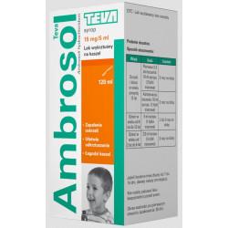 Ambrosol 15mg/5ml syrop 120 ml