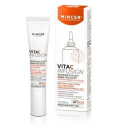 MINCER Pharma VITA C Infusion rozświetlający krem pod oczy 15 ml