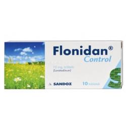 Flonidan Control 10 mg x 10 tabletek