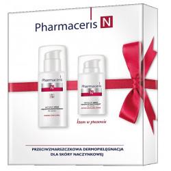 Pharmaceris N zestaw aktywny krem przeciwzmarszczkowy do twarzy 50 ml +krem kojąco-wzmacniający 15 ml