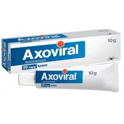 Axoviral krem 0,05 g/g 10g 30.11.2019 r.