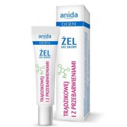Anida Derm Żel do skóry trądzikowej i z przebarwieniami 15 ml AZS