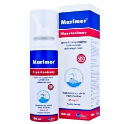 MARIMER Hipertoniczny roztwór wody morskiej aerozol do nosa 100 ml