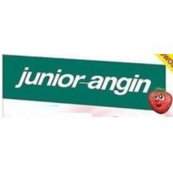 Junior-Angin lizaki na ból gardła x 8 lizaków