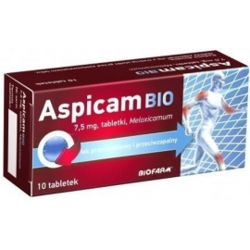 Aspicam Bio 7.5mg x 10 tabletek