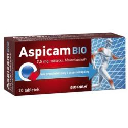 Aspicam Bio 7.5mg x 20 tabletek 30.11.2019 r.