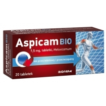 Aspicam Bio 7.5mg x 20 tabletek