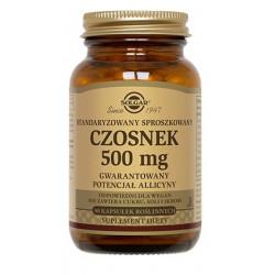 Solgar Standaryzowany Czosnek 500 mg x 90 kapsułek
