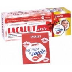 Lacalut activ pasta do zębów 75 ml + lusterko gratis!