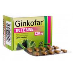 Ginkofar Intense 120 mg x 60 tabletek powlekanych