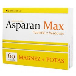 Asparan MAX Tabletki z Wadowic, 60 szt.