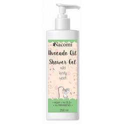Nacomi Żel pod prysznic z naturalnym olejem Avocado 250 ml