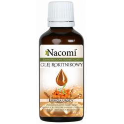 Nacomi Olej rokitnikowy, zimnotłoczony kosmetyczny, 50 ml
