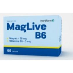 MagLive B6 x 60 tabletek