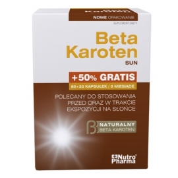 Beta Karoten Sun 90 kapsułek