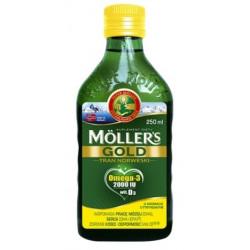 Moller's Gold Tran Norweski aromat cytrynowy 250 ml