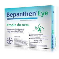 Bepanthen eye krople do oczu 0,5 ml x 10 sztuk