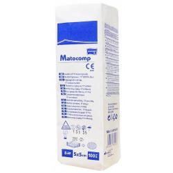 Kompresy z gazy Matocomp, niejałowe 17-nitkowe, 8-warstwowe, 5 x 5 cm 100 szt.