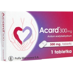 Acard 300 mg x 1 tabletka
