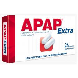 Apap Extra  tabletki powlekane, 24szt