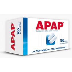 Apap 500 mg x 100 tabletek