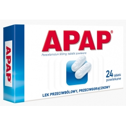 APAP 500 mg x 24 tabletki