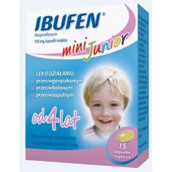 Ibufen mini Junior 100mg  15 kapsułek