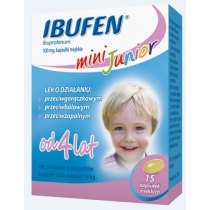 Ibufen mini Junior 100mg  15 kapsułek