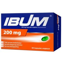 Ibum 200 mg x 60 kapsułek