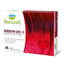 Naturell Koenzym Q10 z witaminą E, 60 kapsułek