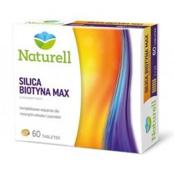 Naturell Silica Biotyna Max 60 tabletek
