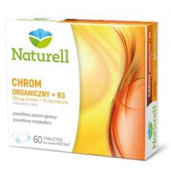 Naturell Chrom organiczny 200 µg + B3 16 mg x 60 tabl.