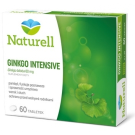 Naturell Ginkgo intensive 80 mg x 60 tabl.