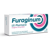 Furaginum US Pharmacia 50 mg x 30 tabletek