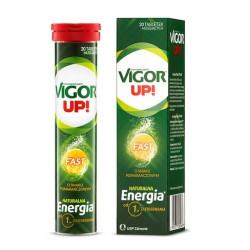 Vigor Up Fast o smaku pomarańczowym x 20 tabletek musujących