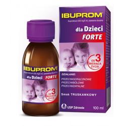 Ibuprom dla dzieci forte 200mg/5ml, zawiesina doustna 100 ml