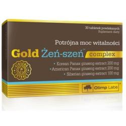 Olimp Gold Żeń-szeń complex x 30 tabl. powlekanych