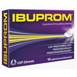 Ibuprom 200mg x 10 tabletek