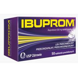 Ibuprom 200mg x 50 tabletek