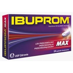 Ibuprom MAX 400 mg x 24 tabletki