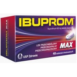 Ibuprom MAX 400 mg x 48 tabletek