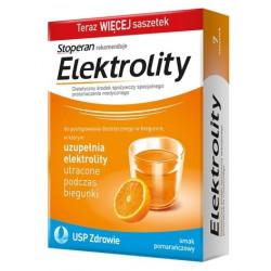 Elektrolity Stoperan o smaku pomarańczowym x 7 saszetek