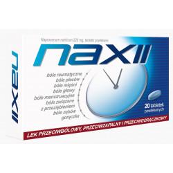 Naxii 220mg 20 tabletek