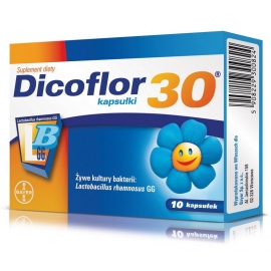 Dicoflor 30, kapsułki, 10 sztuk